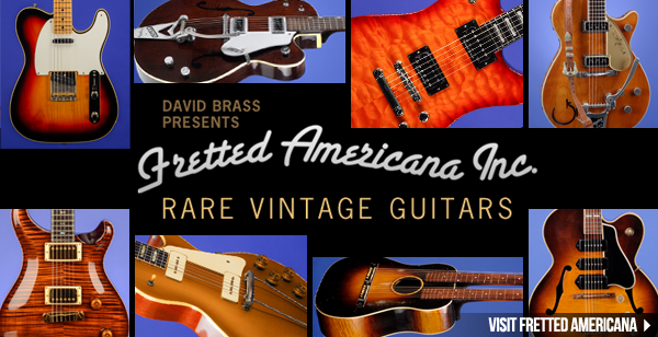 Lentz Guitar Dealer - Fretted Americana